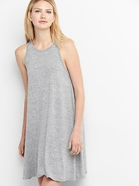 Softspun A-line tank dress