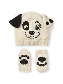 babyGap &#124 Disney Baby 101 Dalmatians hat & mitten set