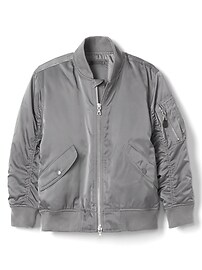 Twill flight jacket