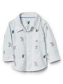 babyGap &3124 Disney Baby Bambi oxford shirt