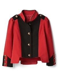 Veste de meneur de troupe à couleurs contrastantes