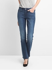 Mid Rise Perfect Boot Jeans