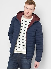ColdControl Lite hooded puffer jacket