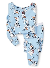 babyGap &#124 Disney Baby Olaf sleep set