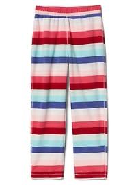 Print fleece PJ pants