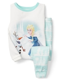 babyGap &#124 Disney Baby Elsa and Olaf sleep set