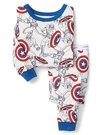 babyGap &#124 Marvel&#169 Captain America sleep set