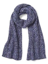 Écharpe moirée en laine de mérinos