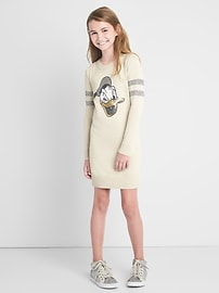GapKids &#124 Disney Donald Duck sweater dress