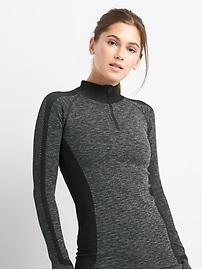 GapFit seamless half-zip sweatshirt