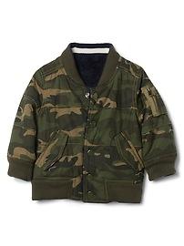 Limited Edition reversible bomber jacket