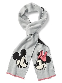 Écharpe Mickey Mouse et Minnie Mouse Disney GapKids