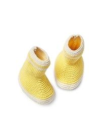 Bottes de pluie en tricot texturé
