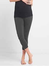 Maternity Pure Body low-rise capri leggings
