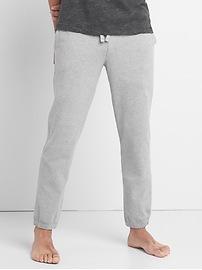 Pantalon d'entraînement en jersey brossé