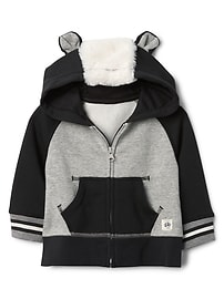 Skunk zip hoodie