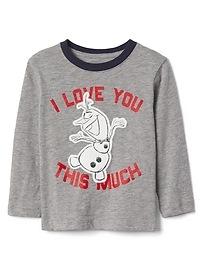 T-shirt à imprimé babyGap Disney