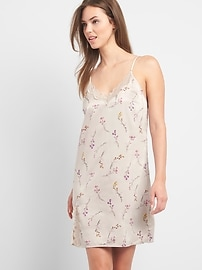 Dreamwell print cami sleep dress