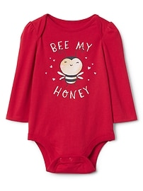 Honey bee graphic bodysuit