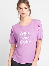 T-shirt à imprimé respirant