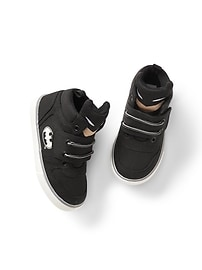 babyGap &#124 Batman&#153 hi-top sneakers