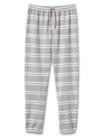 Stripe PJ Pants in French Terry