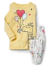 Animal balloon sleep set