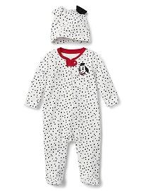 babyGap &#124 Disney Dalmatian footed one-piece set