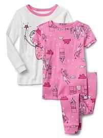 Pyjama à imprimé de fées (ensemble de 3)