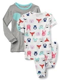 Pyjama à motifs de créatures (paquet de 3paires)