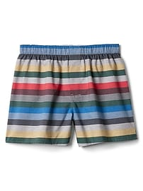 "Crazy stripe 4.5"" boxers"
