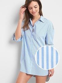 Chemise de pyjama Love By Gap en popeline rayée