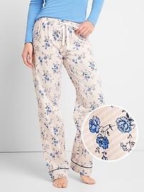 Poplin PJ pants