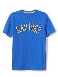 T-shirt à imprimé et à logo