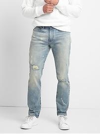 Cone Denim&#174 Destructed Jeans in Slim Fit with GapFlex