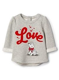 babyGap &#124 Disney Dalmatian fleece sweater