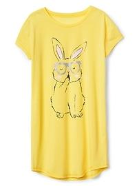 Bunny Graphic Sleep Dress