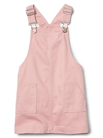 Denim Skirt Overalls
