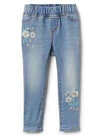 Superdenim Embroidery Favorite Jeggings with Fantastiflex