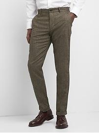 Wool Pants in Slim Fit with GapFlex