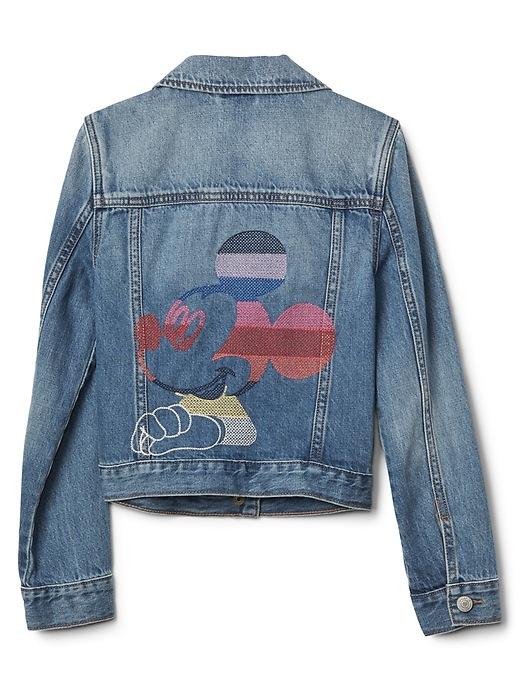 Gap Kids | Disney Mickey Mouse Crazy Stripe Denim Jacket by Gap