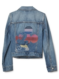 Veste en denim à rayures folles Mickey Mouse GapKids Disney