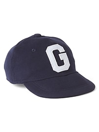 Logo Baseball Hat in French Terry