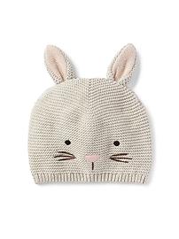 Bunny Garter Hat