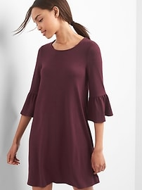Softspun Bell-Sleeve Dress