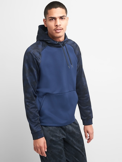 Gap Fit G Warm Fleece Pullover Hoodie by Gap
