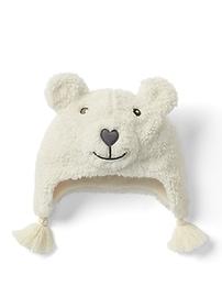 Tuque de trappeur à motifs d'ours confortable