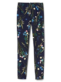 Floral Leggings in Jersey