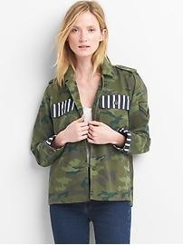 Veste utilitaire camouflage