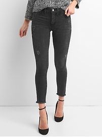 Mid Rise Favorite Jeggings with Brushed Lining